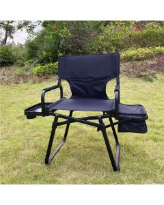 ALUMINUM NEW DIRECTOR CHAIR WITH SIDE TABLE AND COOLER BAG