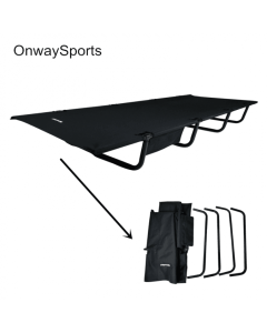 FOLDING CAMPING COT ULTRA LIGHTWEIGHT COLLAPSIBLE COMPACT HEAVY DUTY DESIGN