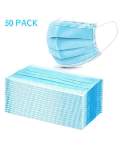 Face Mask Disposable | Pack of 50