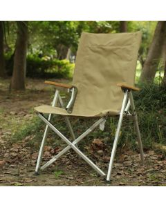 ALUMINUM CANVAS SEAT FOLDABLE CAMP CHAIR