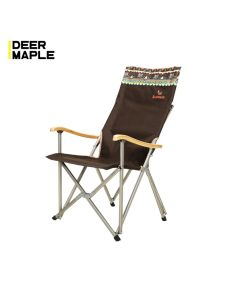 High Back Bamboo Camping Chair