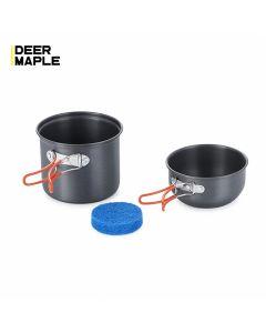 Outdoor Backpacking Pot and Pan Set